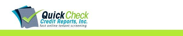 Quick Check Credit Reports, Inc.