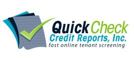 Quick Check Credit Reports ~ Tenant screening - No signup fees! No Onsite Inspection for Private Landlords