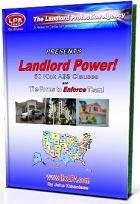Landlord Power! 50 Kick A$$ Clauses