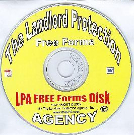 CD rom disk of free landlord forms