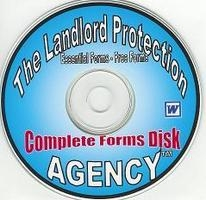 CD rom disk of landlord forms contains rental lease agreements, rental appliaction, apartment lease, eviction notices, late notices, property condition report, free landlord forms