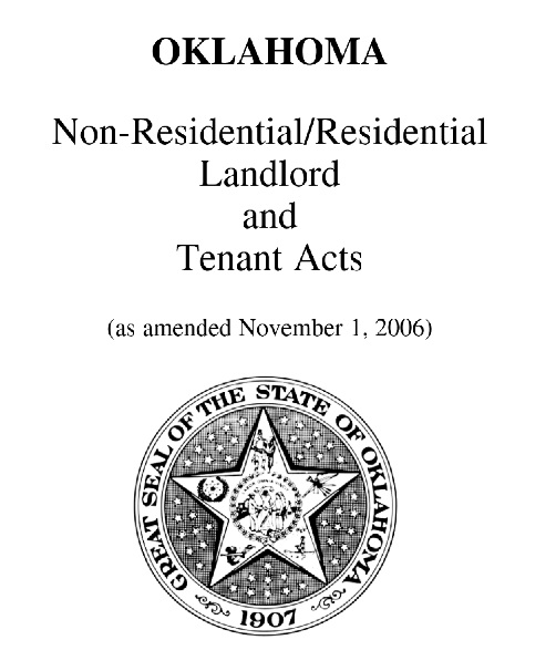 Landlord Tenant law booklet