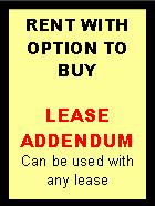Option to Buy Addendum