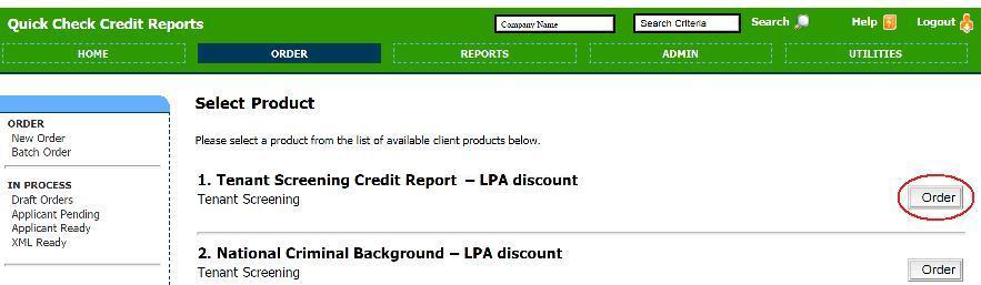 Quick Check Credit Reports Order1