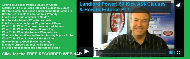 Free Landlord Training Webinar