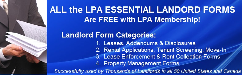Landlord Rental Agreement Lease Forms